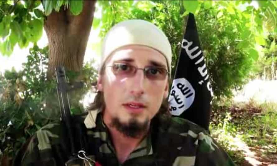 Andre Poulin, also known as Abu Muslim who fought and died for ISIS in Syria.