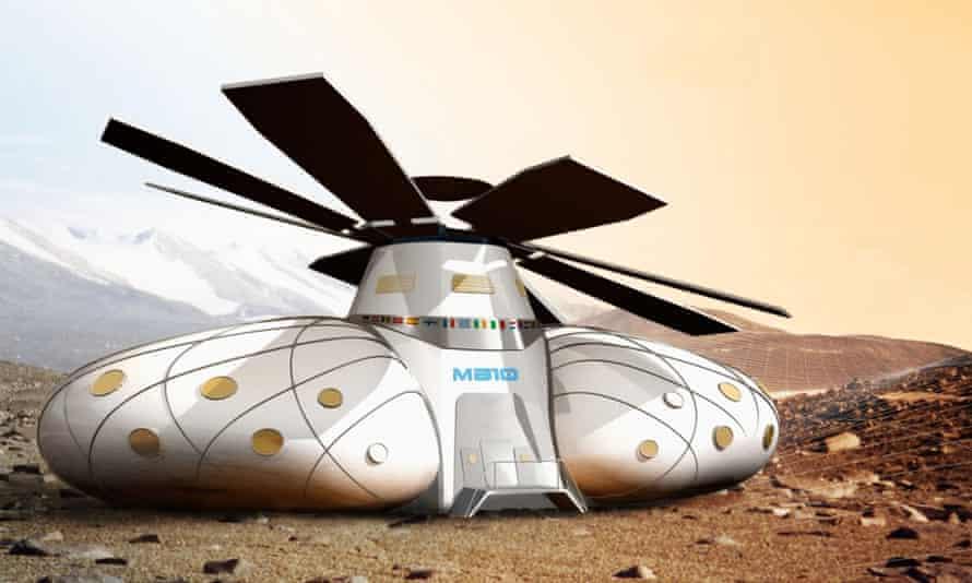 Mars base 10