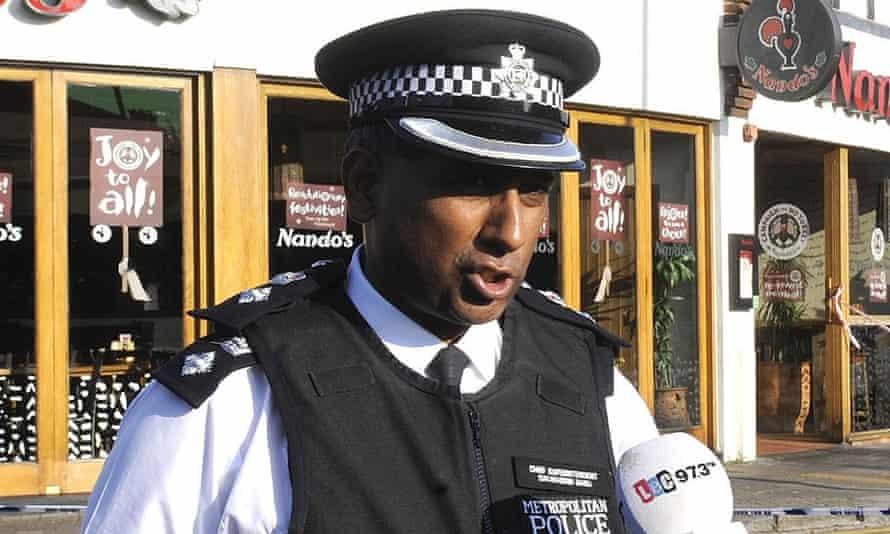 Metropolitan police chief superintendent Dal Babu
