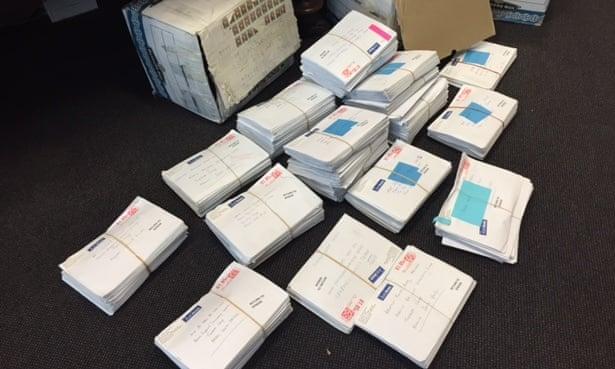 Returned mail from Nauru