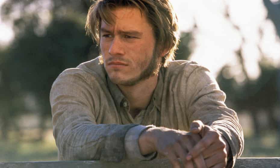 Heath Ledger in the 2003 film of Ned Kelly.