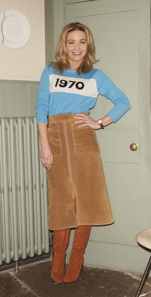 Jess Cartner-Morley showcases the skirt back in February