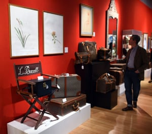 Items from the Lauren Bacall Collectionat Bonham's in New York.
