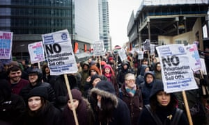 London's March for Homes protest