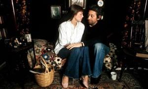Serge Gainsbourg and Jane Birkin in 1974