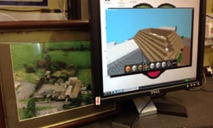 School image and Minecraft version