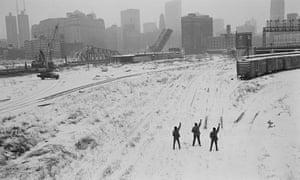 Black Panthers in Chicago, Illinois, 1969, by Hiroji Kubota