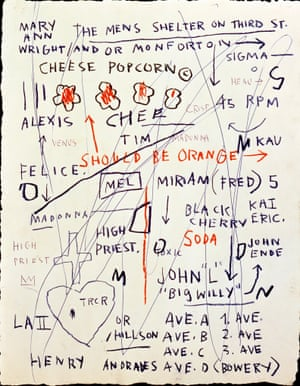 Untitled (Cheese Popcorn), 1983 by Jean-Michel Basquiat
