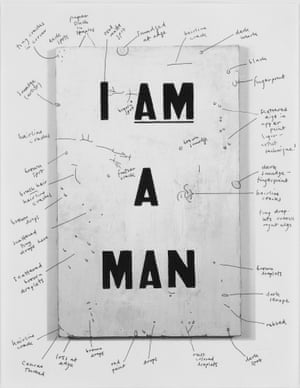 Glenn Ligon at the Nottingham Contemporar yEncounters and Collisions