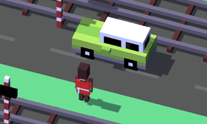 Crossy Road was popular in the UK even before it included British characters.