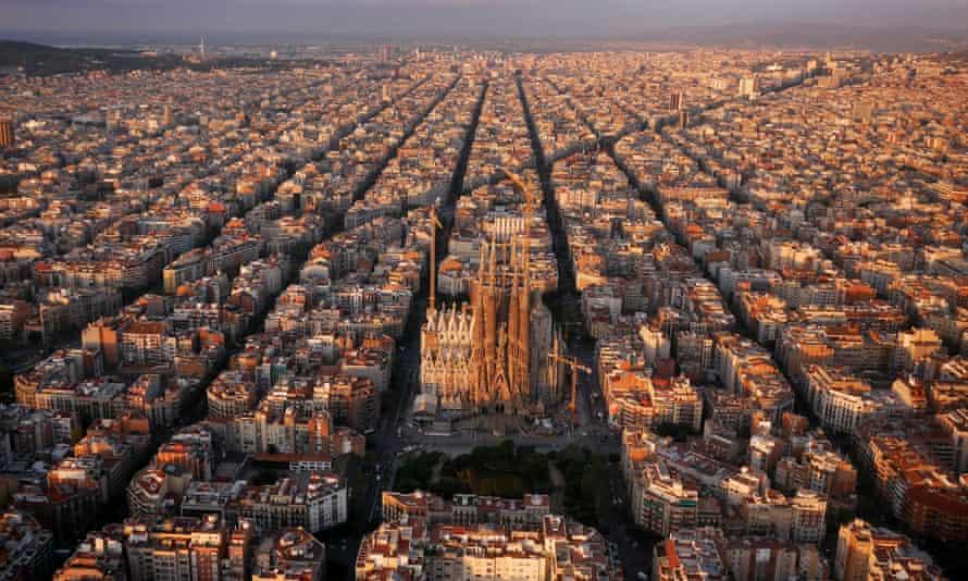The Sagrada Família, Barcelona.