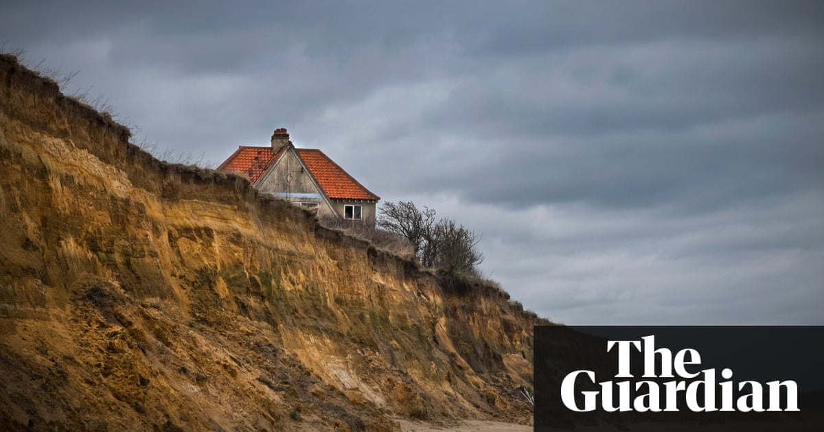 This Sinking Isle The Homeowners Battling Coastal Erosion - How high is my house above sea level uk