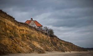 This sinking isle the homeowners battling coastal erosion patrick a house on the edge of the cliffs at easton bavents southwold suffolk thecheapjerseys Image collections