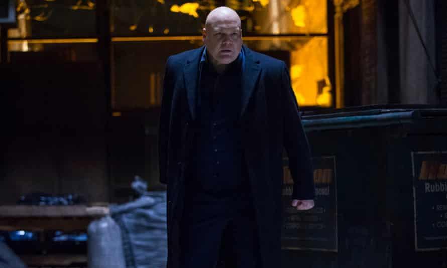 I, badman: Vincent D'Onofrio as Daredevil's nemesis, Wilson Fisk.