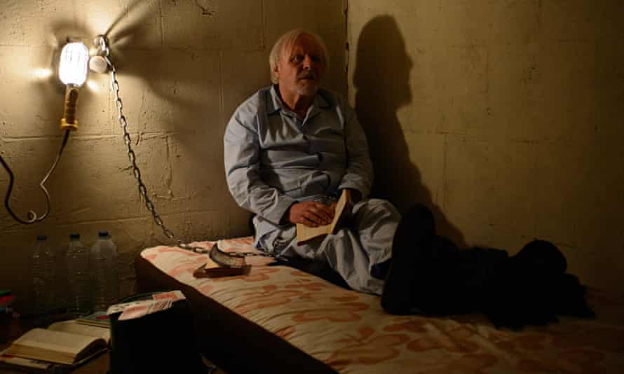 Small beer … Anthony Hopkins in Kidnapping Freddy Heineken.