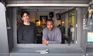 Hackney empire: NTS DJs Martyn and Actress.