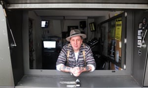 Dial another day: club legend Andrew Weatherall.