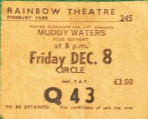 Muddy Waters ticket