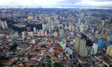 The historical centre of Curitiba, South America's 'greenest city'.