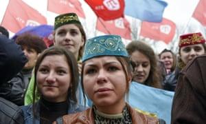 Crimean Tatars rally