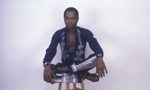 Fela Kuti in New York City, 1986.