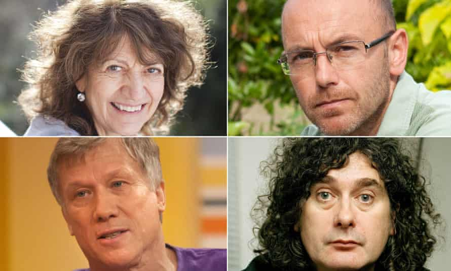 Writer Susie Orbach, actor Peter Duncan, designer Wayne Hemingway and advertising director Trevor Beattie, four of 100 Labour-supporting signatories.