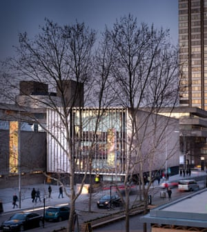 The new Max Rayne centre, housing design studios and set-building workshops, is Haworth Tompkins's most conspicuous addition to the National and 'intelligently like and not like the original building'