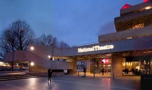 The National's new entrance and Sackler pavilion.