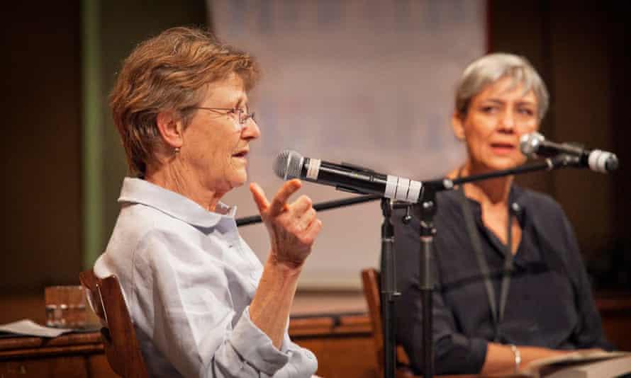 Helen Garner and Caroline Baum