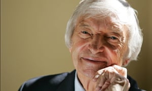 Richie Benaud, at the Montcalm Hotel, London in 2005