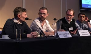 Judge Jules at AIM's Music Connected conference.