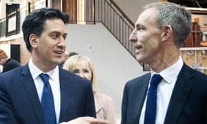 Ed Miliband and Jim Murphy