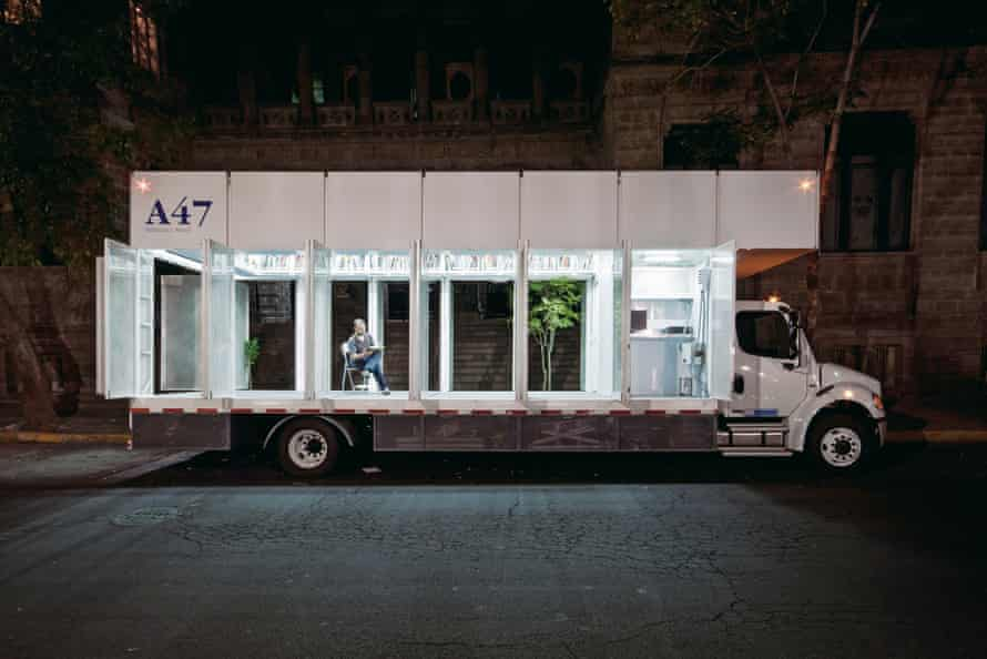 Productora's A47 Mobile Art Library