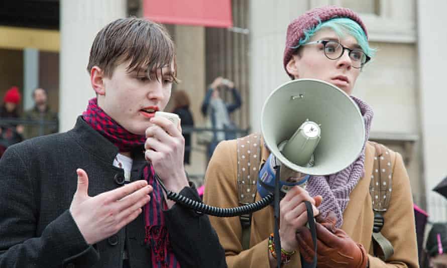 Vigil for transgender teen suicide Leelah Alcorn