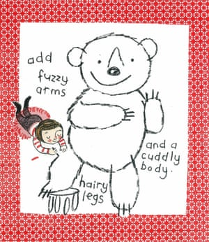 How to draw a bear 5