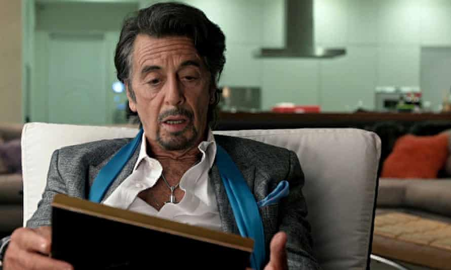 Al Pacino in Danny Collins, directed by Dan Fogelman