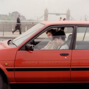 Toyota Corolla AE82, London Bridge, EC4