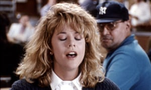 Meg Ryan shows how to fake it in When Harry Met Sally