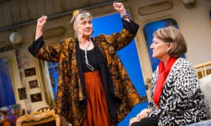 Marty Cruickshank (Virgie) and Rachel Bell (Shirley) in After Electra by April De Angelis