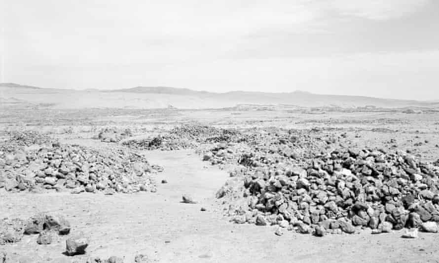 Desert Trails (Detail), by Xavier Ribas