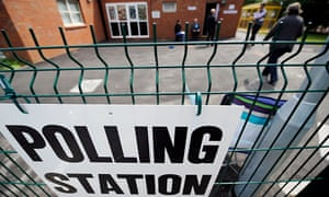 polling station at school