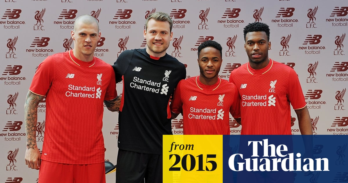 2ea33acc6 Liverpool unveil new home kit inspired by fans on the Kop