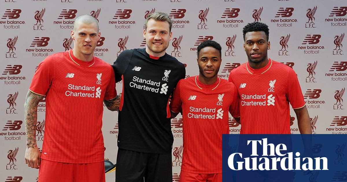 Liverpool unveil new home kit inspired by fans on the Kop  31d251a99