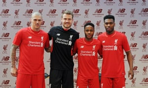 premium selection e72f0 93e8c Liverpool unveil new home kit inspired by fans on the Kop ...