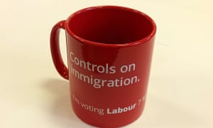 No one is allowed to talk about immigration these days, as a glance at the front page of the Express or Mail will confirm, but at least you can buy a Labour party mug.
