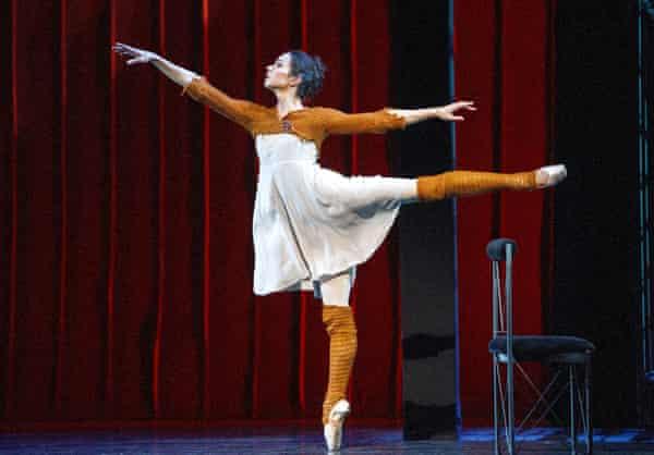 Vishneva in Cinderella in 2014