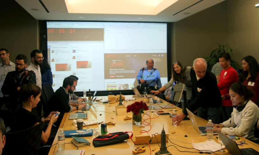 In the 'war room' at Netflix HQ