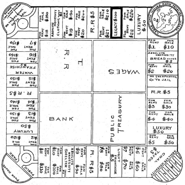 monopoly landlord's game
