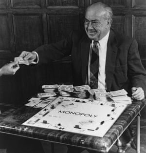 Charles Darrow credited with inventing monopoly.