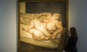 Benefits of Supervisor Resting 1994 is expected to set a new auction record for a Lucian Freud.